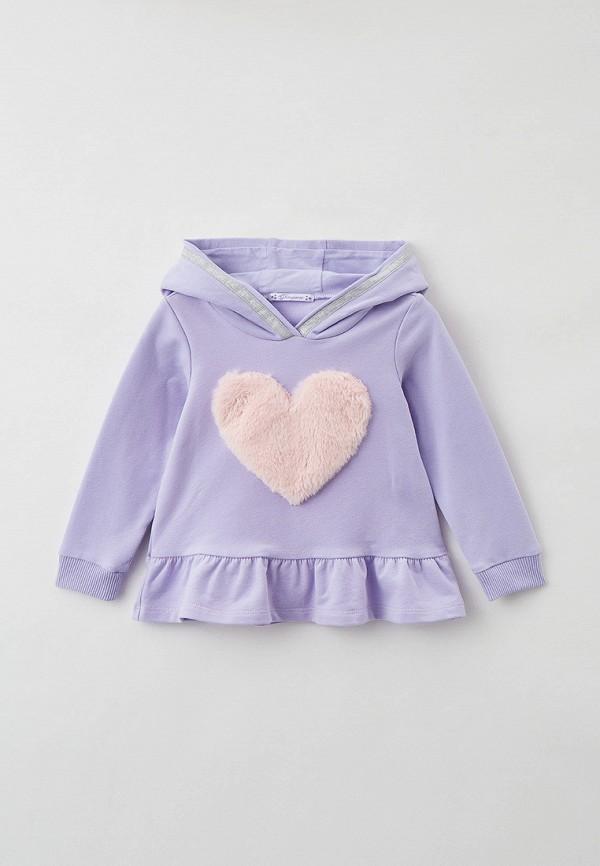 худи choupette для девочки, фиолетовые