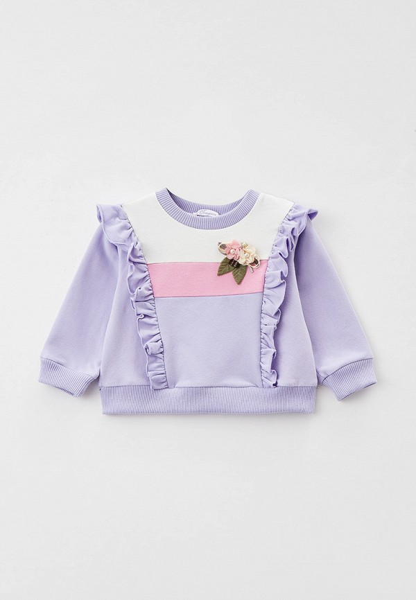 свитшот choupette для девочки, фиолетовый