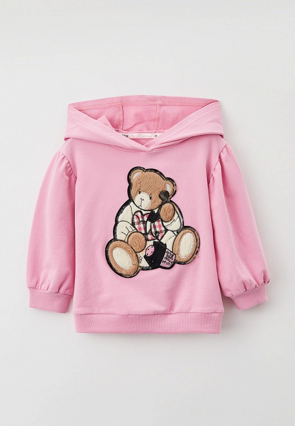 худи choupette для девочки, розовые