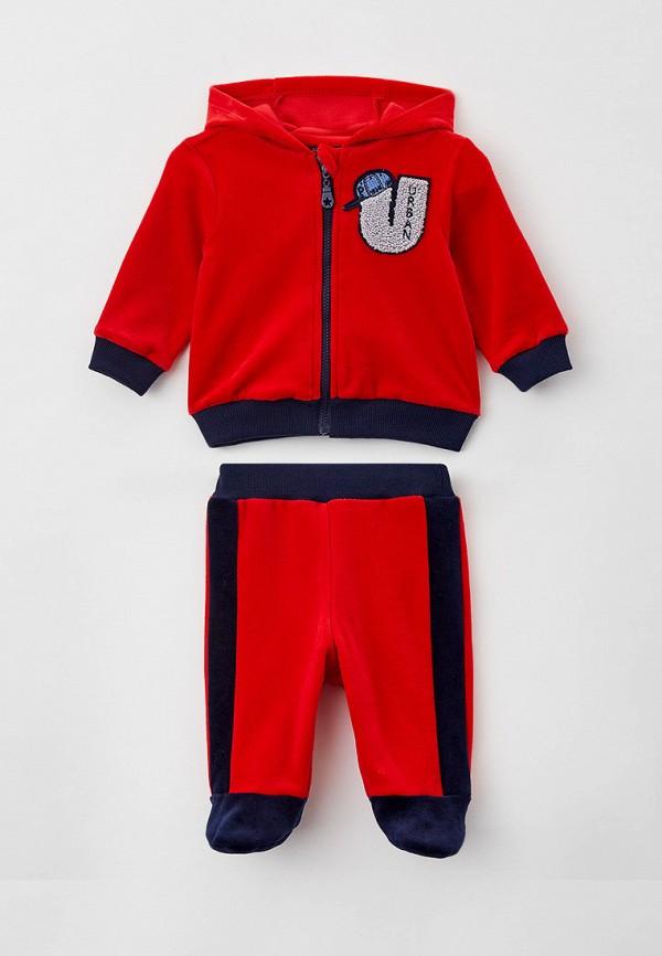 спортивный костюм choupette для мальчика, красный