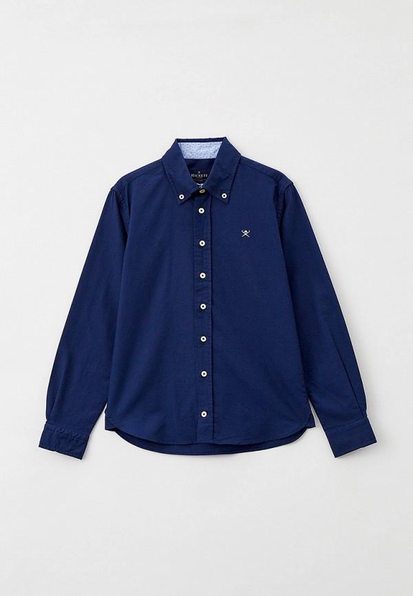 рубашка hackett london для мальчика, синяя