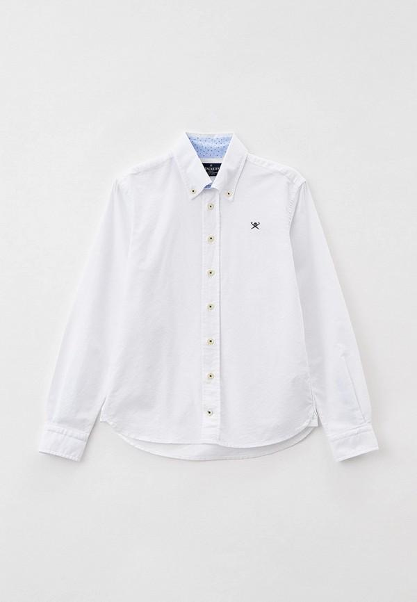 рубашка hackett london для мальчика, белая