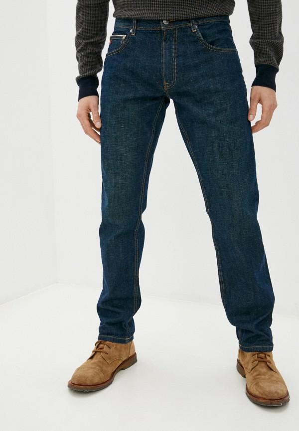 мужские прямые джинсы hackett london, синие