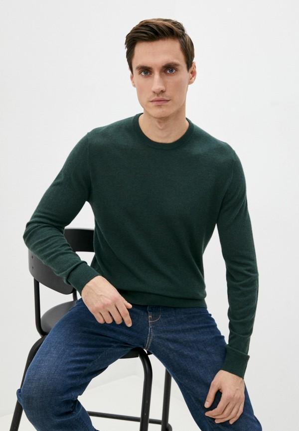 мужской джемпер hackett london, зеленый