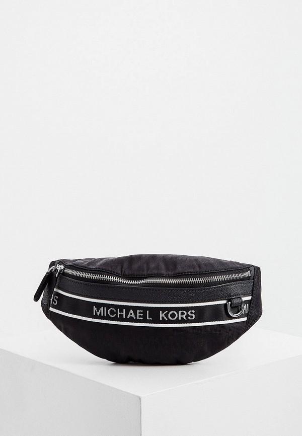 мужская поясные сумка michael kors, черная