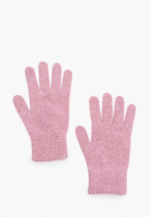 женские перчатки ferz, розовые