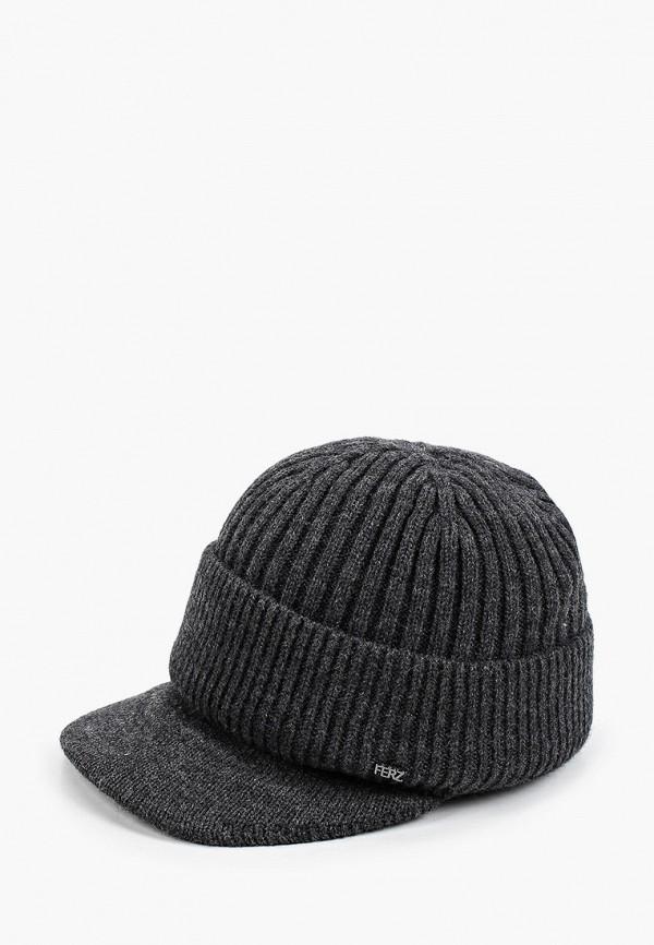 женская кепка ferz, серая