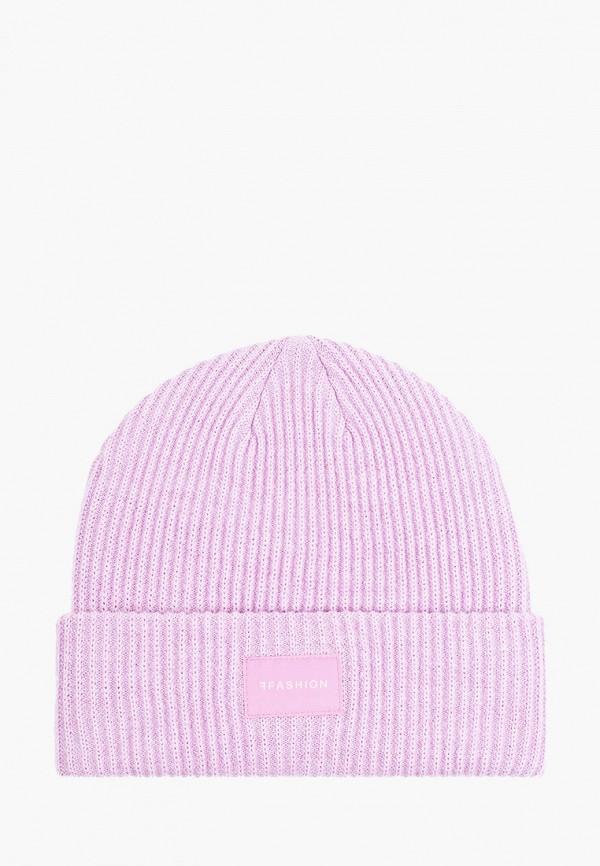 женская шапка ferz, фиолетовая
