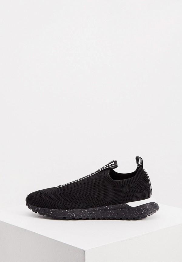 женские низкие кроссовки michael kors, черные
