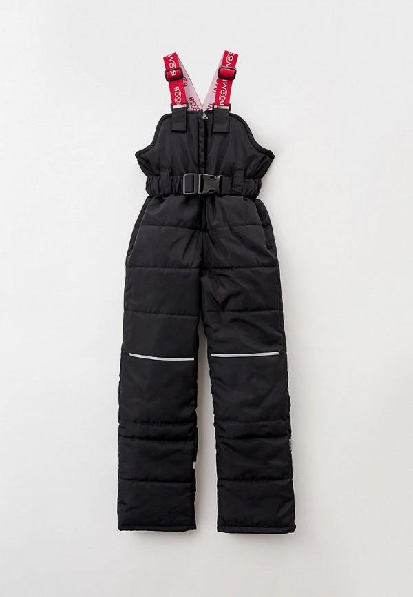 утепленные брюки boom by orby для девочки, черные