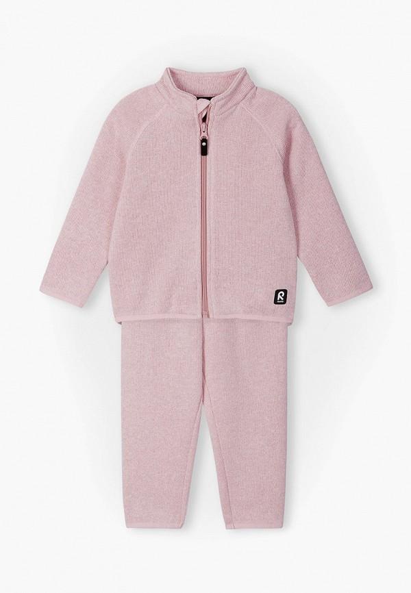 костюм reima для девочки, розовый