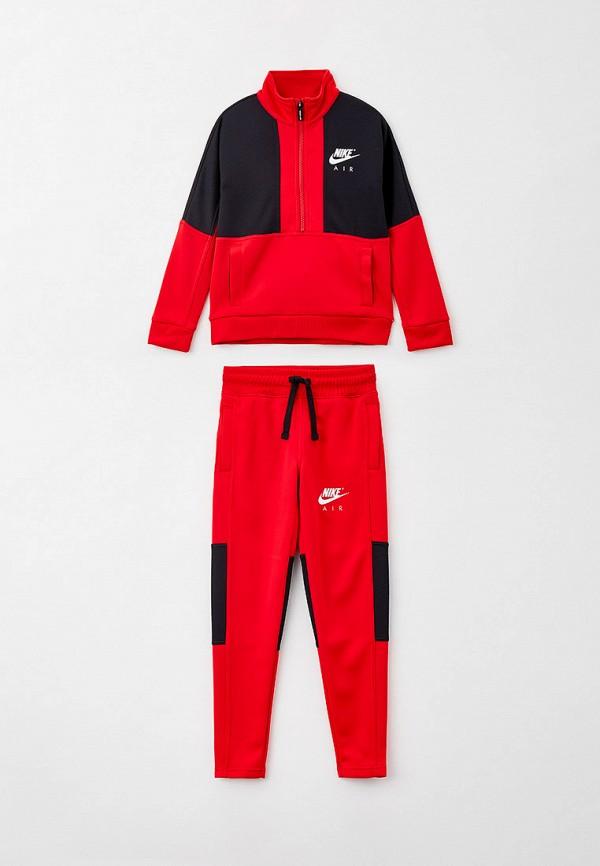 спортивный костюм nike малыши, красный