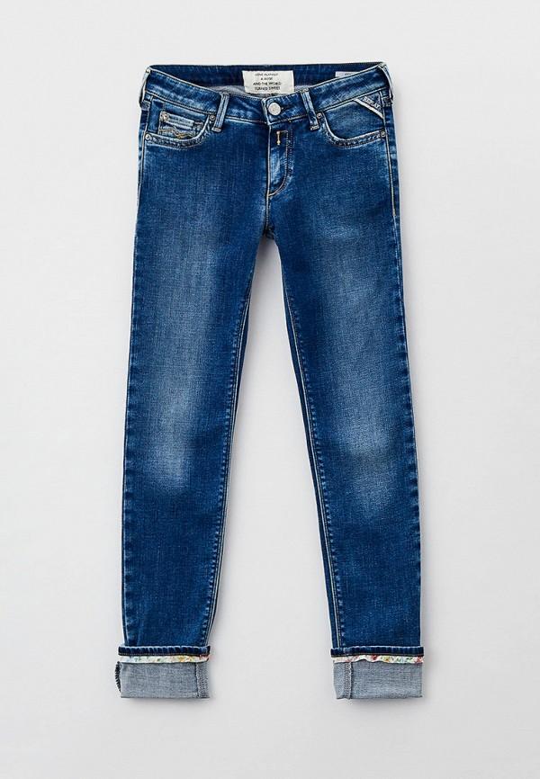 джинсы replay для девочки, синие
