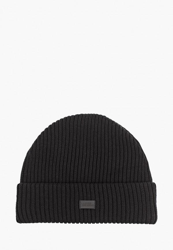женская шапка under armour, черная