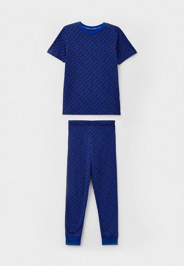 пижама calvin klein для мальчика, синяя