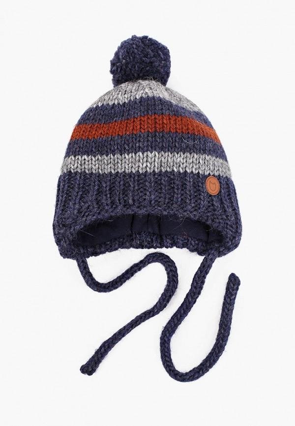 шапка котофей для мальчика, разноцветная
