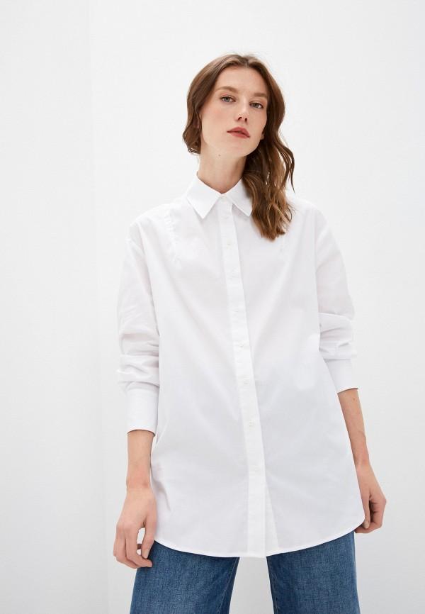 женская рубашка с длинным рукавом steffen schraut, белая