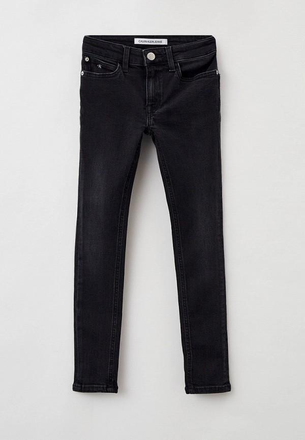 джинсы calvin klein для девочки, черные