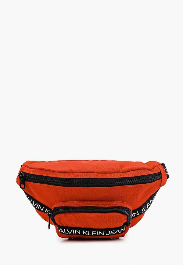 сумка calvin klein малыши, красная