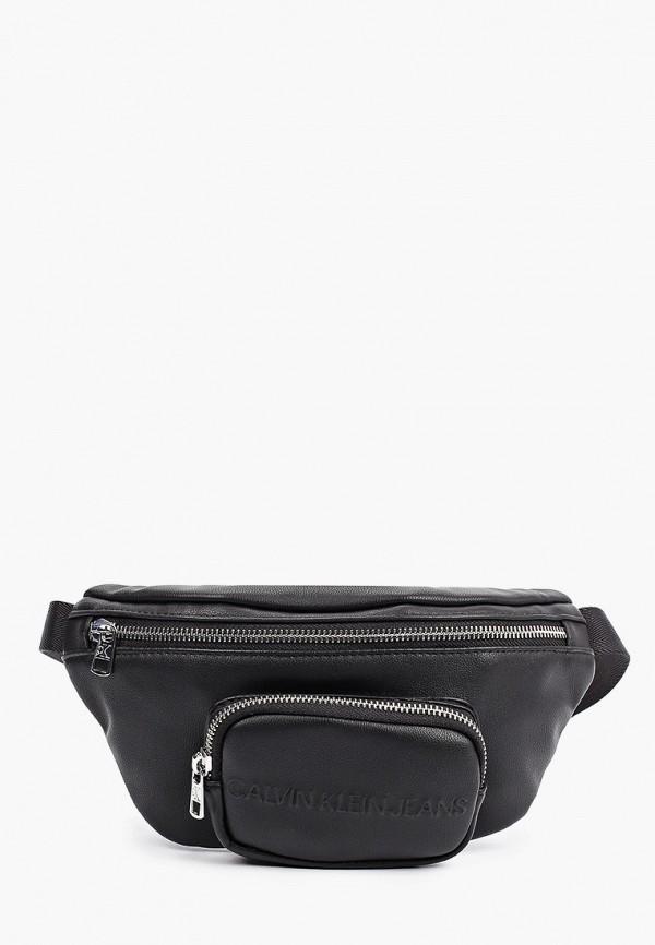 поясные сумка calvin klein малыши, черная