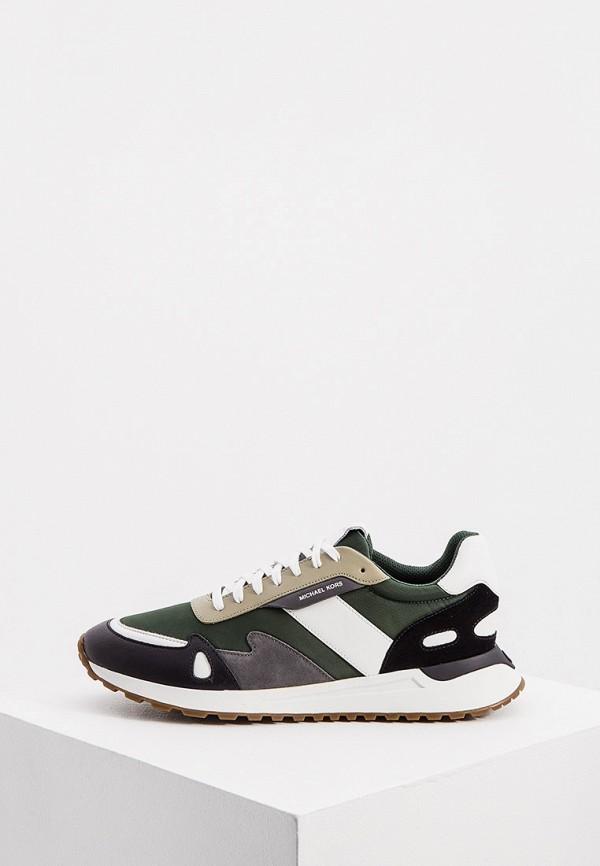 мужские низкие кроссовки michael kors, зеленые