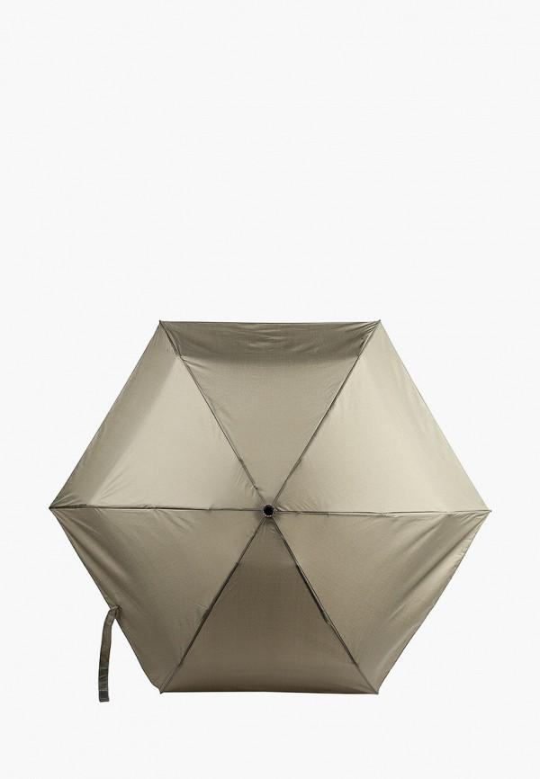 женский складные зонт united colors of benetton, хаки