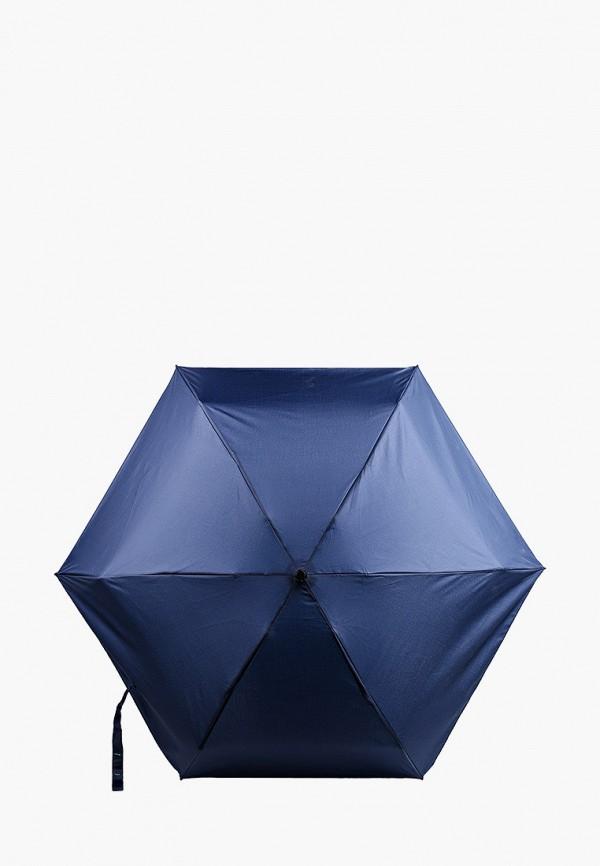 женский складные зонт united colors of benetton, синий