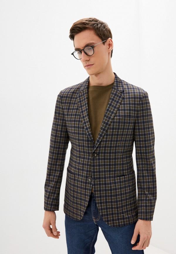 мужской пиджак united colors of benetton, разноцветный