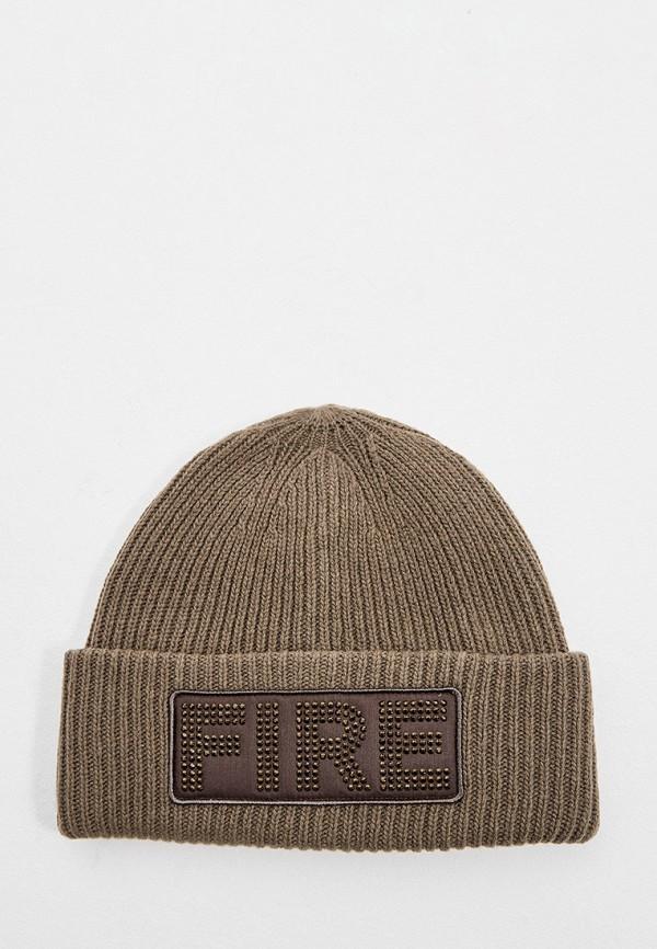 женская шапка bogner, хаки