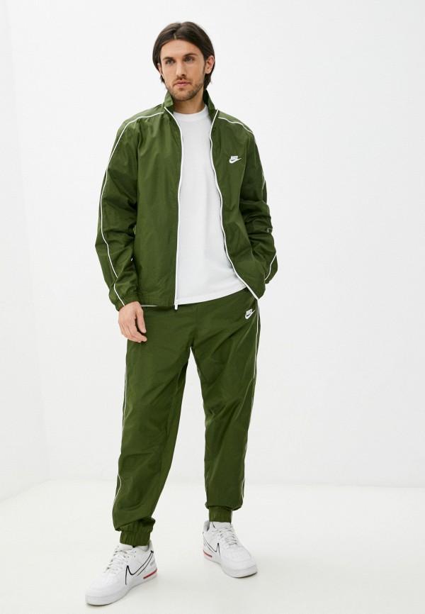 Костюм спортивный Nike цвета хаки