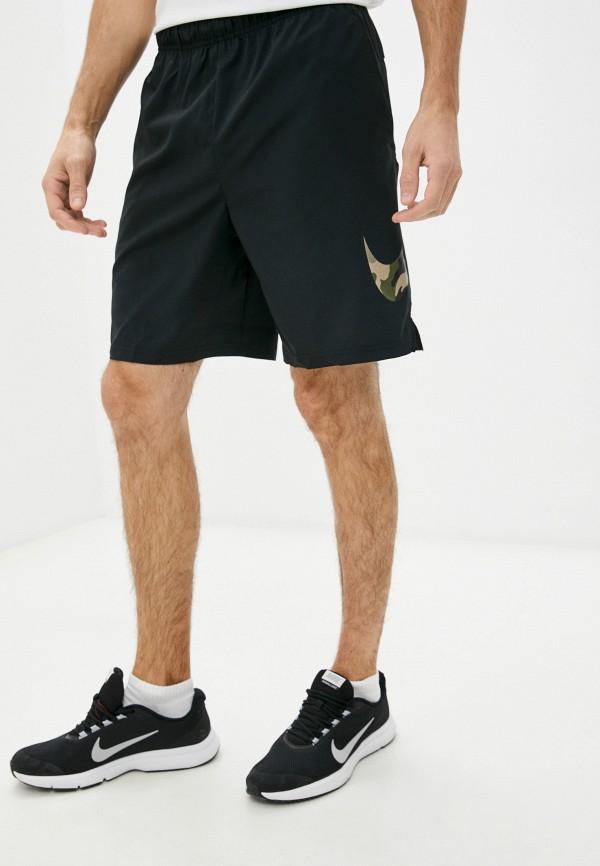 Шорты спортивные Nike черного цвета