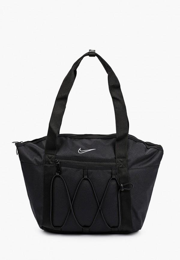 женская спортивные сумка nike, черная