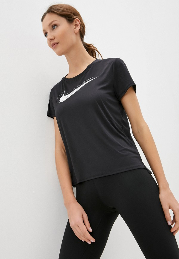 Футболка спортивная Nike черного цвета