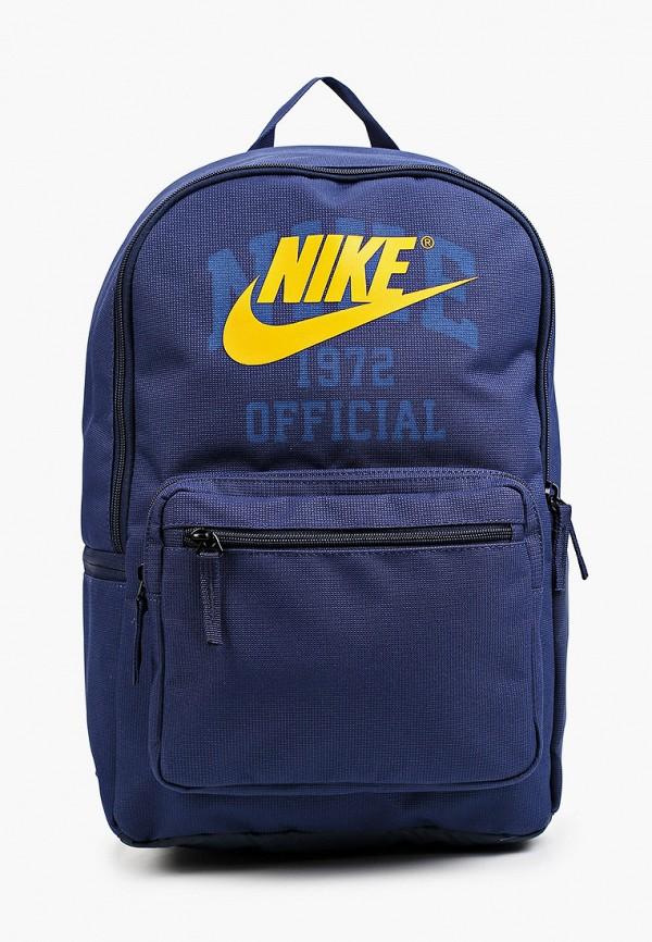 женский рюкзак nike, синий