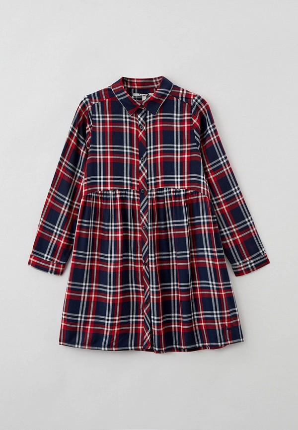 повседневные платье pepe jeans london для девочки, разноцветное