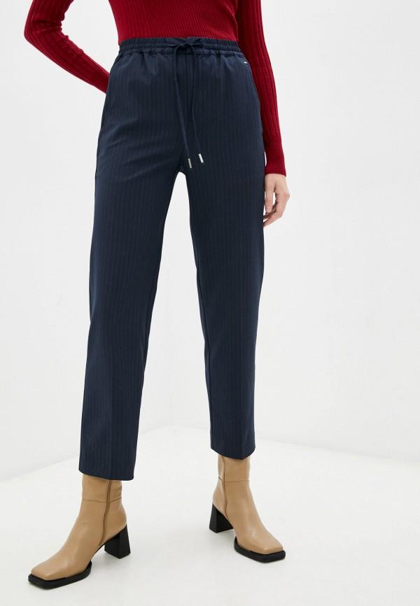 женские классические брюки pepe jeans london, синие