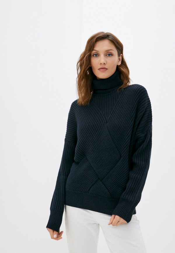 женский свитер pepe jeans london, синий