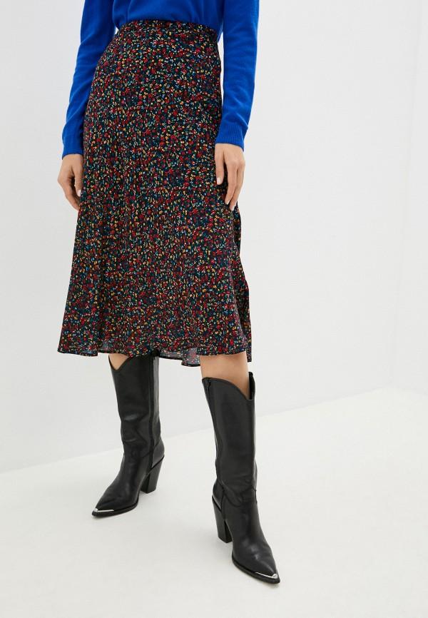 женская юбка-трапеции pepe jeans london, разноцветная