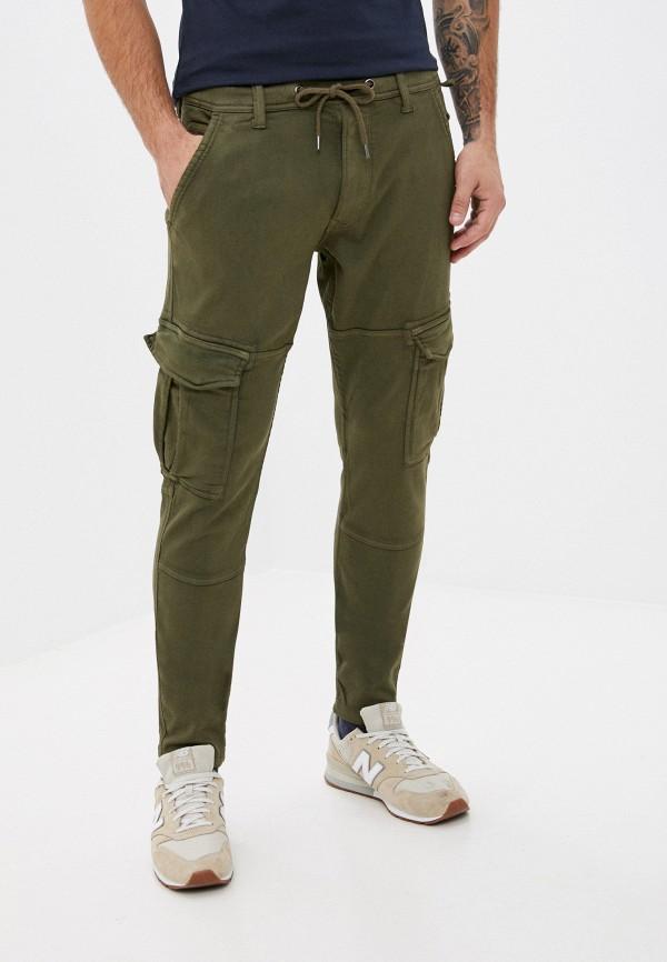 мужские брюки карго pepe jeans london, хаки