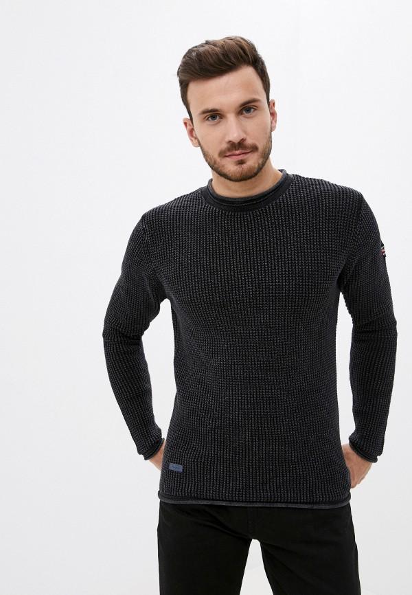 мужской джемпер pepe jeans london, серый