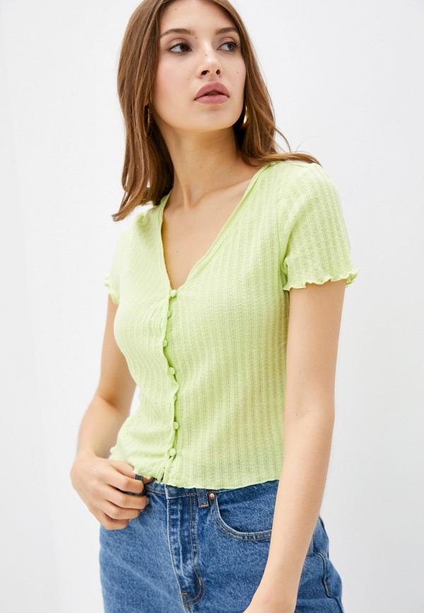 женская футболка cotton on, зеленая