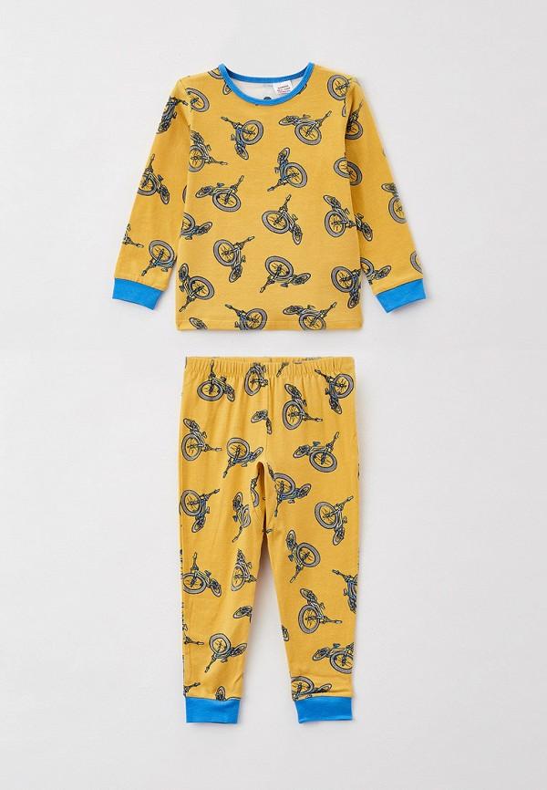 пижама cotton on для мальчика, желтая