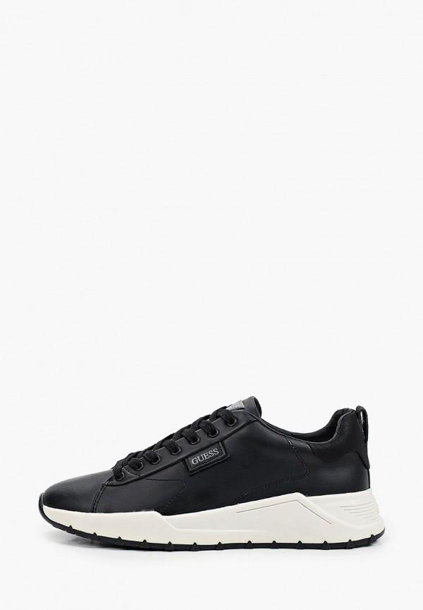 мужские низкие кроссовки guess, черные