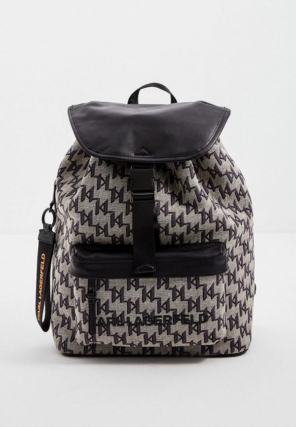 женский рюкзак karl lagerfeld, бежевый