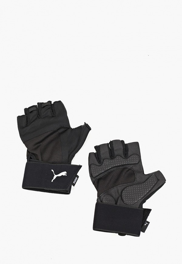 мужские перчатки puma, черные