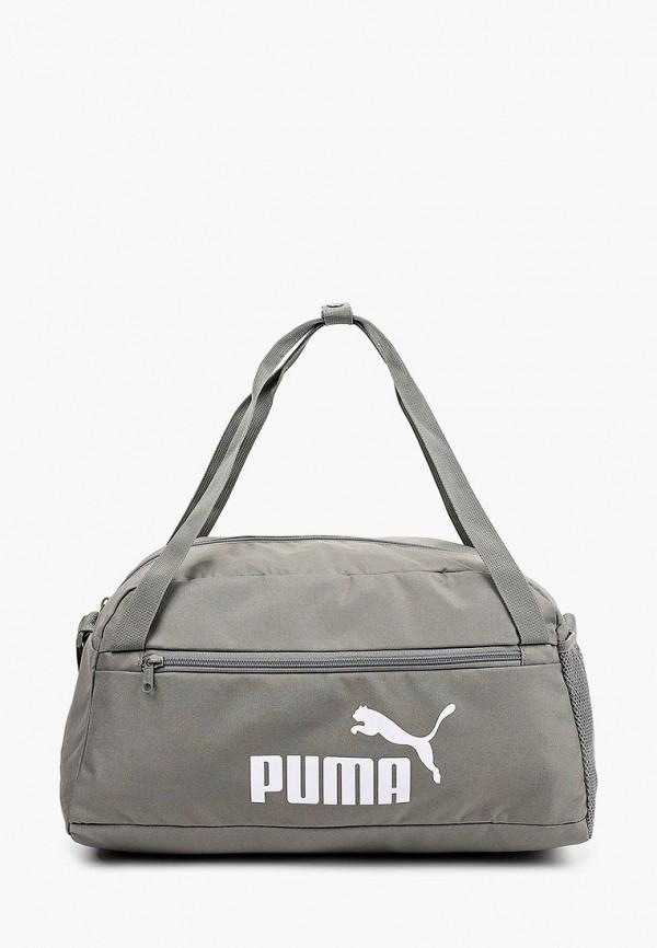 женская сумка puma, серая