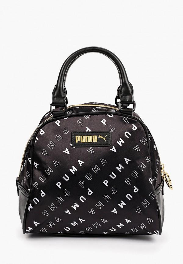 женская спортивные сумка puma, черная