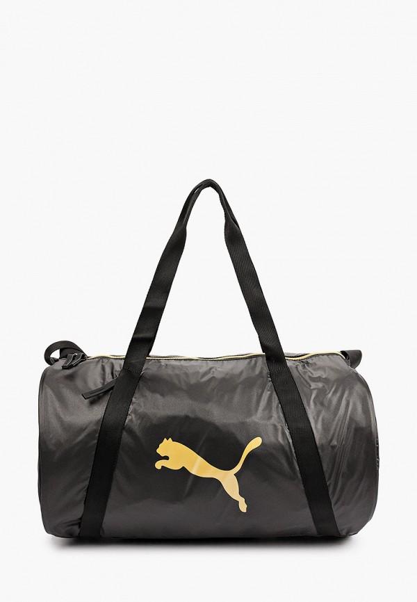 женская спортивные сумка puma, бордовая