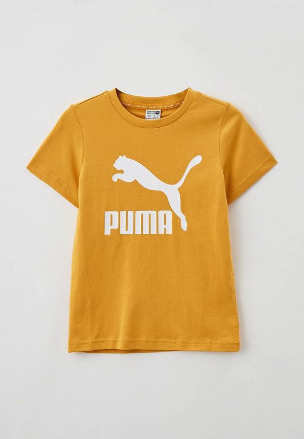 Футболка PUMA желтого цвета