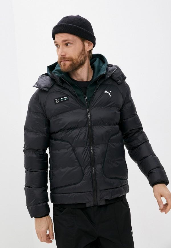 Куртка утепленная PUMA черного цвета